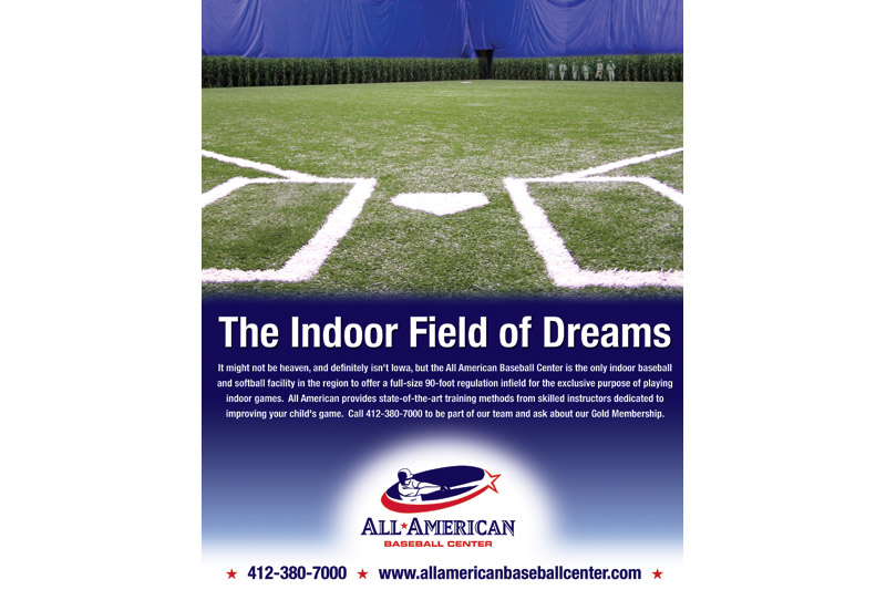 All American Baseball Center Magazine Ad