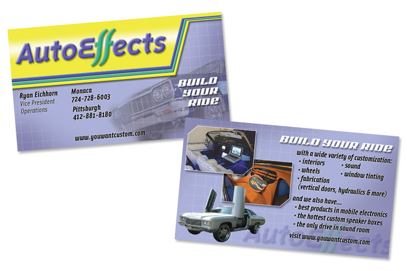 AutoEffects Business Card