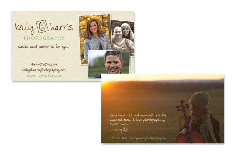 Kelly O. Harris Photography Business Card