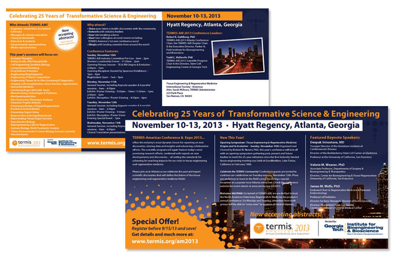 TERMIS Conference Direct Mail